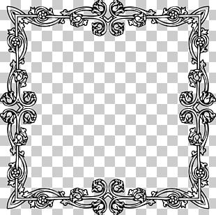 Victorian Era Borders And Frames Frames Ornament PNG