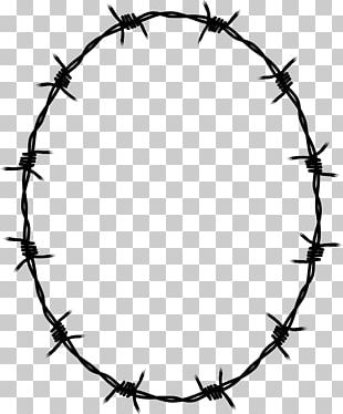 Barbed Wire Borders And Frames Fence PNG