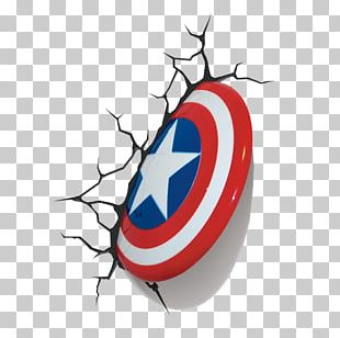 Captain America's Shield Spider-Man Light S.H.I.E.L.D. PNG