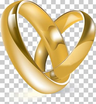 Gold Wedding Ring Material Body Jewellery PNG