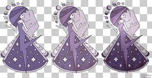 Pearl Blue Diamond Gemstone Mural PNG