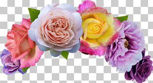 Wreath Flower Emoji Crown PNG