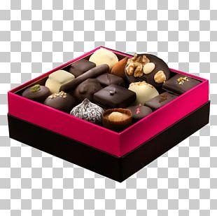 Chocolate Truffle Praline Box Candy PNG