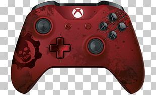 Gears Of War 4 Xbox One Controller Game Controllers Wireless PNG