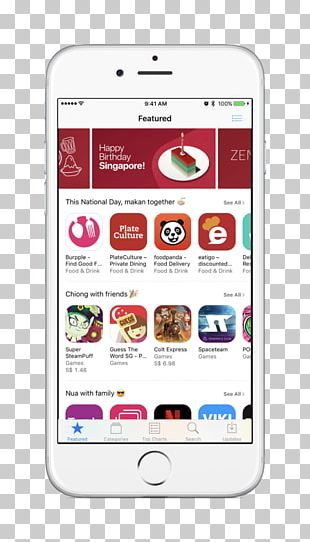 Smartphone Feature Phone Apple National Day Of Singapore PNG