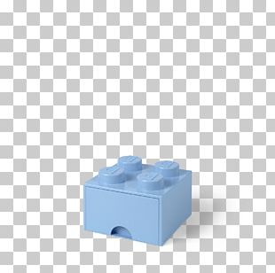 Box Blue LEGO Toy Drawer PNG