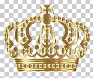 Golden Crown Creative Illustration PNG