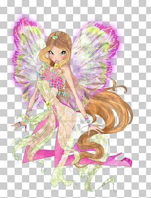 Flora Fairy Digital Art PNG