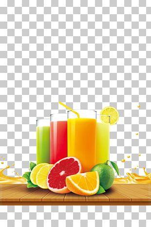 Orange Juice Soft Drink Strawberry Juice PNG