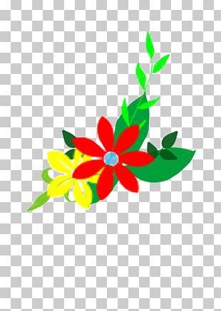 Floral Design Cartoon Flower PNG