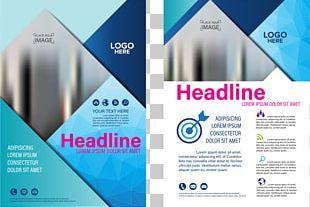 Flyer Brochure Publicity PNG