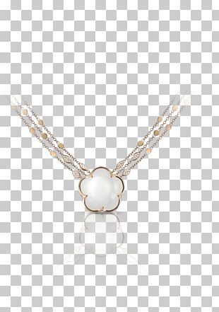 Pearl Necklace Charms & Pendants Silver Jewellery PNG