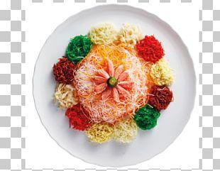 Yusheng Hainanese Chicken Rice Singaporean Cuisine Vegetarian Cuisine Dish PNG