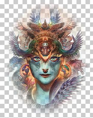 Digital Art Artist Visionary Art Painting PNG