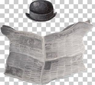 Newspaper Hat PNG