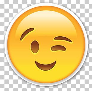 Emoji Wink Smiley PNG