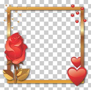 Frames Valentine's Day Heart Decorative Arts Convite PNG