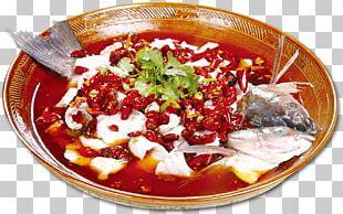 Shuizhu Sichuan Cuisine Fish Slice Fried Fish PNG