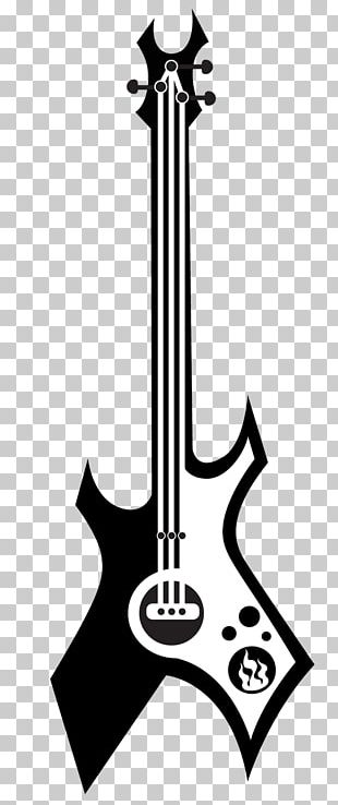 Electric Guitar Art String Instrument Accessory String Instruments PNG