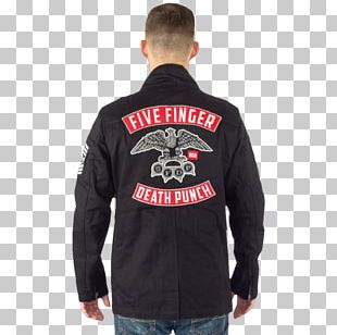 Hoodie Five Finger Death Punch T-shirt Jacket Sleeve PNG