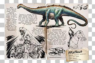 ARK: Survival Evolved Diplodocus Allosaurus Dinosaur Giganotosaurus PNG