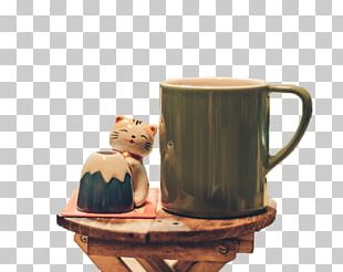 Coffee Cup Cat Cafe Kopi Luwak PNG