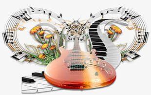 Piano Guitar Music PNG