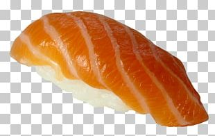Sashimi Smoked Salmon Sushi Sake Onigiri PNG