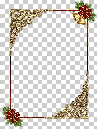 Borders And Frames Christmas Ornament Frame PNG