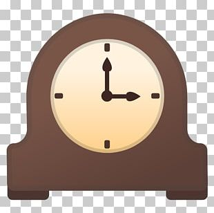 Mantel Clock Computer Icons Fireplace Mantel PNG