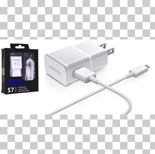 Samsung Galaxy S II Battery Charger Micro-USB AC Adapter PNG