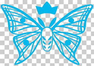 Monarch Butterfly Art Painting Design PNG