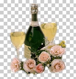 Champagne Glass Wine Champagne Glass Bottle PNG