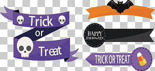 Halloween Ribbon Party PNG