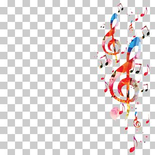 Musical Note Background Music PNG