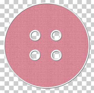 Circle Angle Pink M Pattern PNG