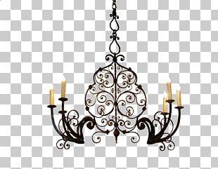 Chandelier Light Fixture Lighting Torchère PNG