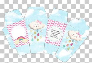 Blessing Rain Paper Love Baby Shower PNG