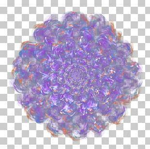 Purple Flower Designer PNG