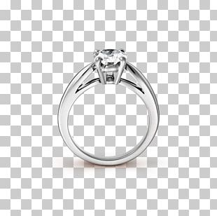 Engagement Ring Jewellery Solitaire Wedding Ring PNG