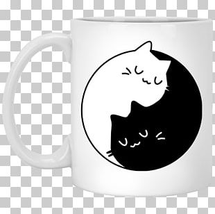 Cat Kitten T-shirt Yin And Yang Felidae PNG