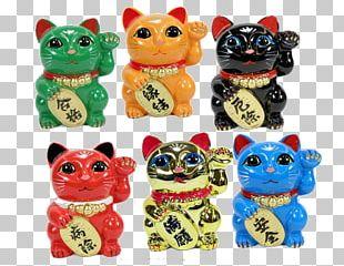 Cat Maneki-neko Luck Kitten Color PNG