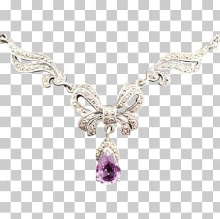 Necklace Jewellery Charms & Pendants Gemstone Amethyst PNG