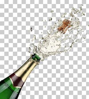 Champagne Glass Sparkling Wine Sabrage PNG