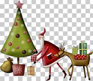 Christmas Ornament Santa Claus Reindeer Christmas Tree PNG