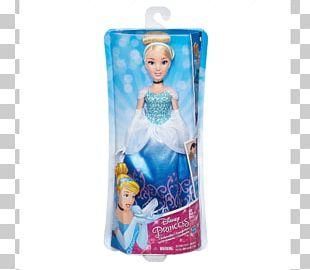 Cinderella Disney Princess Royal Shimmer Rapunzel Doll Ariel Belle PNG