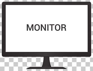Computer Monitor Logo PNG