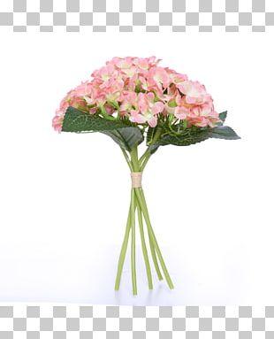 Flower Bouquet Artificial Flower Rose Hydrangea PNG