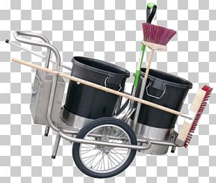 Cart Street Sweeper Waste Collector Carro De Limpieza Cleaning PNG