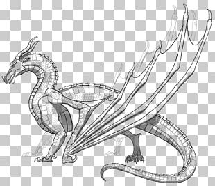 Wings Of Fire Coloring Book Dragon PNG